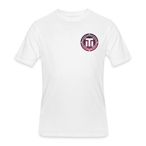Purple Sunset Logo T-Shirt - Men's 50/50 T-Shirt
