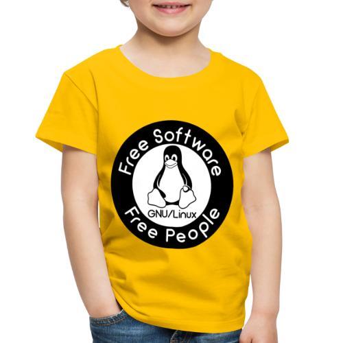 GNU/Linux - Toddler Premium T-Shirt