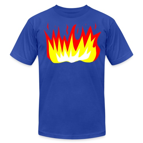 T-Shirt War Fire - Men's Fine Jersey T-Shirt