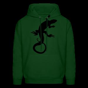 Lizard Hoodie Men's Reptile Art Jacket - Men's Hoodie