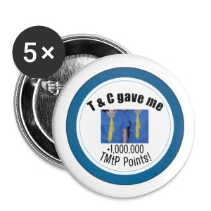 TMtP Blog Points Set of Five 1 Buttons - Small Buttons