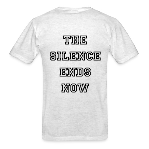 Noahs Journey (the silence ends now) - Men's T-Shirt