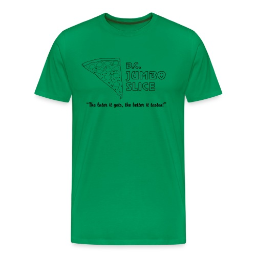 D.C. Jumbo Slice - Men's Premium T-Shirt