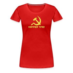 Hammer Time! - Women's Premium T-Shirt