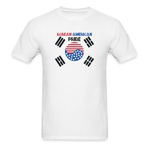 Korean-American Pride  - Men's T-Shirt