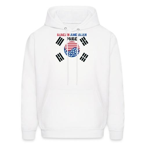 Korean-American Pride  - Men's Hoodie