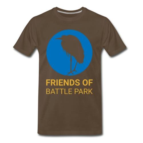Friends of Battle Park - Large Logo - Men's Premium T-Shirt