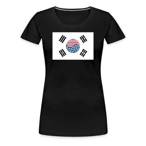 Korean American Pride / Heritage - Women's Premium T-Shirt