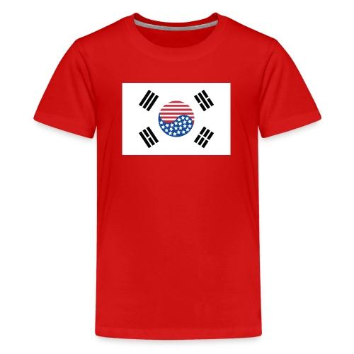 Korean American Pride / Heritage - Kids' Premium T-Shirt