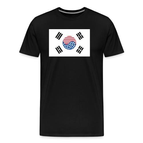 Korean American Pride / Heritage - Men's Premium T-Shirt