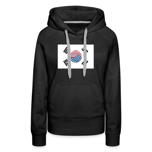 Korean American Pride / Heritage - Women's Premium Hoodie