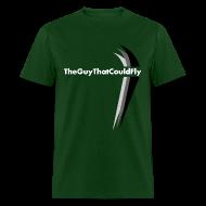 T-Shirts ~ Men's T-Shirt ~ TheGuyThatCouldFly Tshirt (white pg logo)