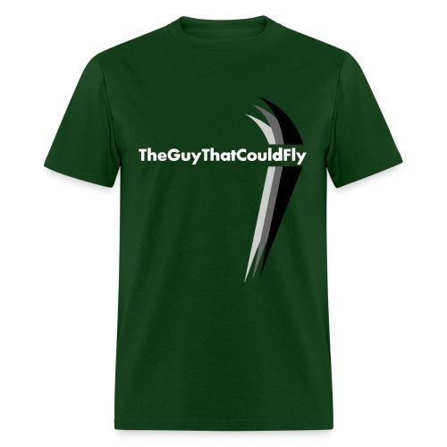 TheGuyThatCouldFly Tshirt (white pg logo) - Men's T-Shirt
