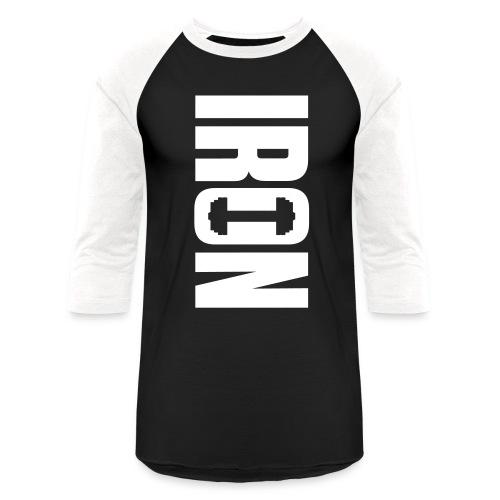 IRON - Baseball T-Shirt