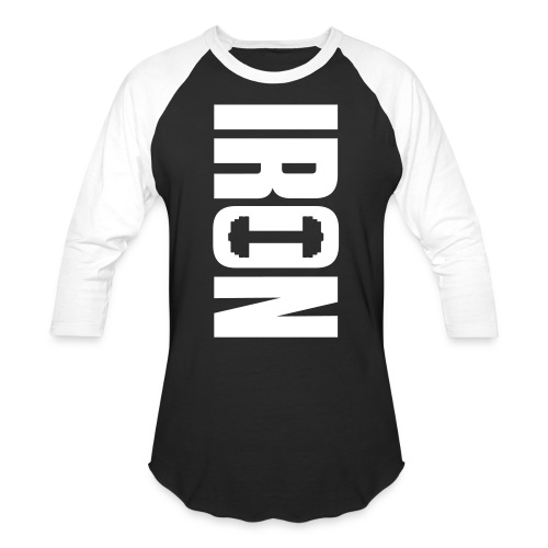 IRON - Baseball T-Shirt