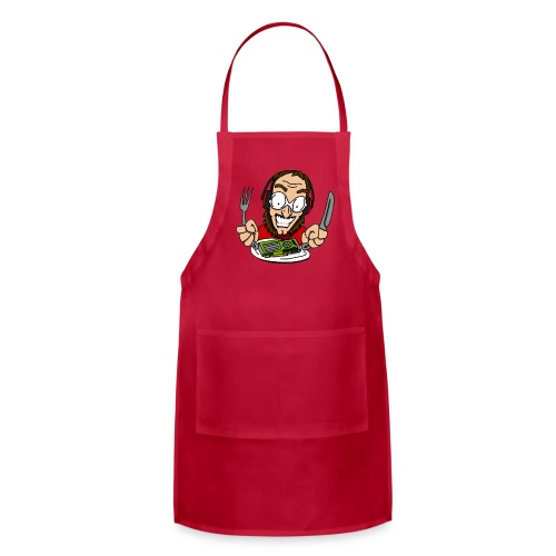 Serving Up Some Graphics - Adjustable Apron