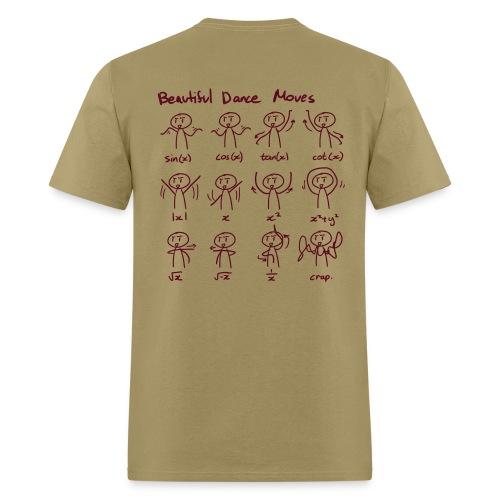 Maths humor, Maths curves, Beautiful dance moves - Men's T-Shirt