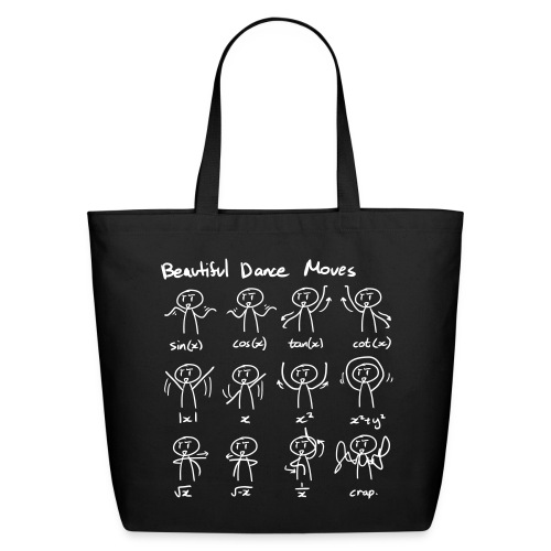 Maths humor, Maths curves, Beautiful dance moves - Eco-Friendly Cotton Tote