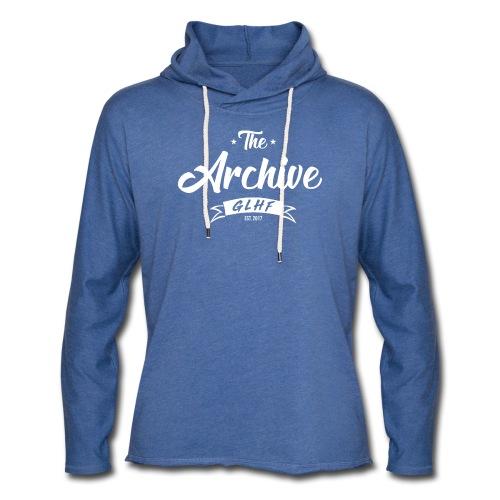 The Archive Classic - Lightweight Unisex Hoodie - Unisex Lightweight Terry Hoodie