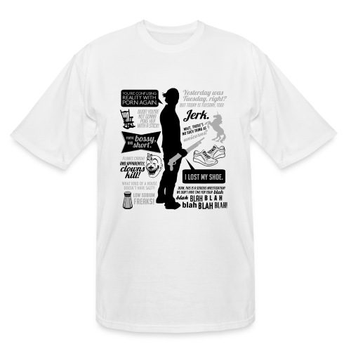 Sam quotes [DESIGN BY AVIA] - Men's Tall T-Shirt
