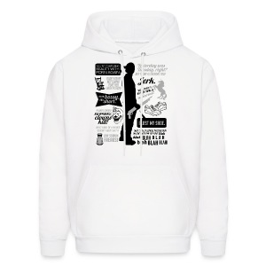 Sam quotes [DESIGN BY AVIA] - Men's Hoodie