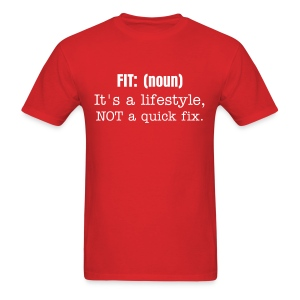 fit it's a lifestyle tshirt - Men's T-Shirt
