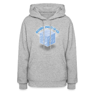 Hoodies ~ Women's Hoodie ~ Floating Block of Ice Women's Hoodie