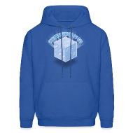 Hoodies ~ Men's Hoodie ~ Floating Block of Ice Men's Hoodie