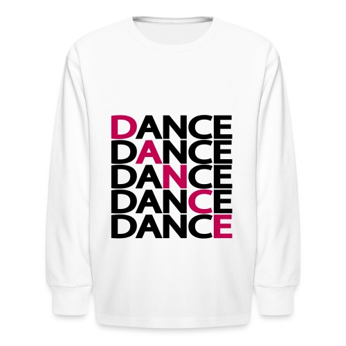 DANCE,SWEATER - Kids' Long Sleeve T-Shirt