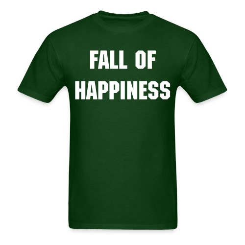 Fall Of Happiness Tee - Men's T-Shirt
