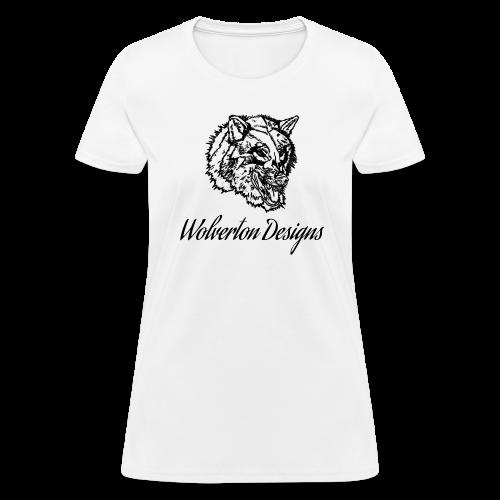 Wolverton Designs Black Logo (FEMALE) - Women's T-Shirt