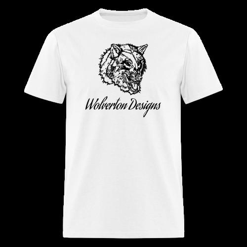 Wolverton Designs Black Logo (MALE) - Men's T-Shirt