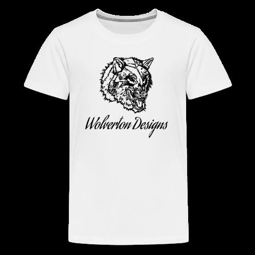 Wolverton Designs Black Logo (KIDS) - Kids' Premium T-Shirt