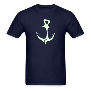 Glow Anchor - Men's T-Shirt