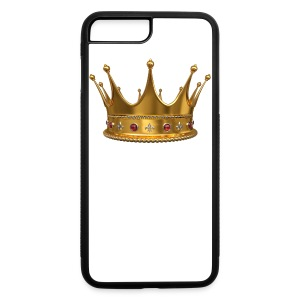 Crown Of King iPhone 7 Plus/8 Plus Rubber Case - iPhone 7 Plus/8 Plus Rubber Case