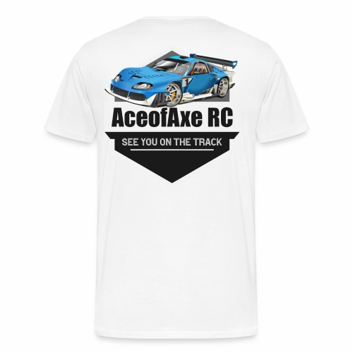 AoA on Track - Men's Premium T-Shirt