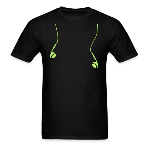 Earbuds Shirt - Men's T-Shirt
