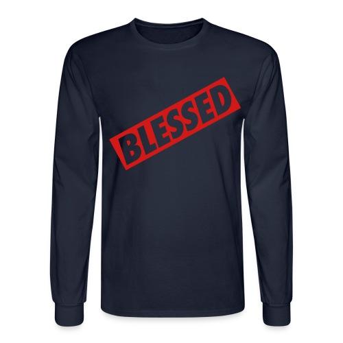 Blessed  - Men's Long Sleeve T-Shirt