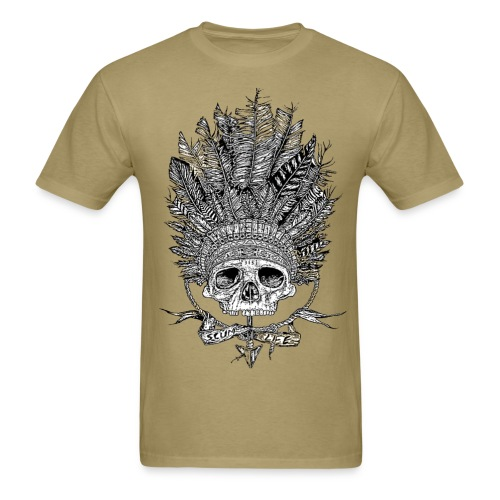 Metal and Shiz - Men's T-Shirt