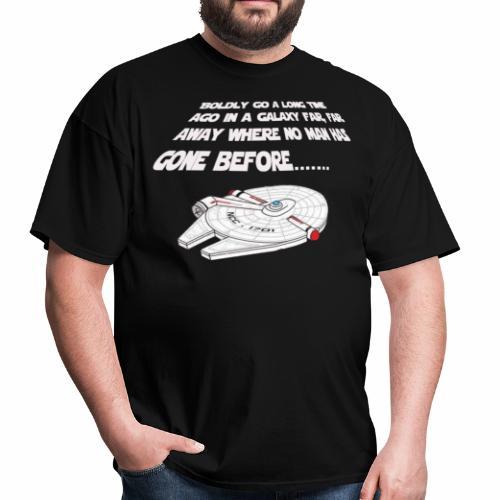 Star Trekwars - Men's T-Shirt