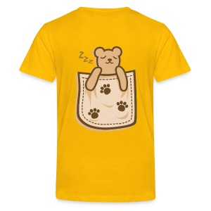 Bear_in_the_Pocket - Kids' Premium T-Shirt