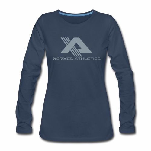 Women's Metallic XA Logo Long Sleeve Tee - Women's Premium Long Sleeve T-Shirt