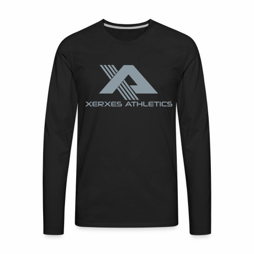 Men's Metallic XA Logo Long Sleeve Tee - Men's Premium Long Sleeve T-Shirt