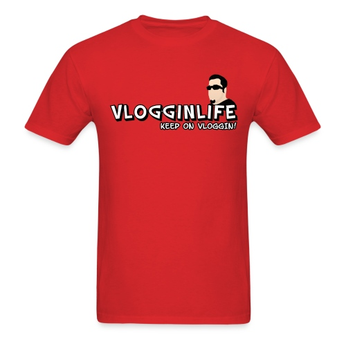 Vlogginlife t-Shirt - Men's T-Shirt