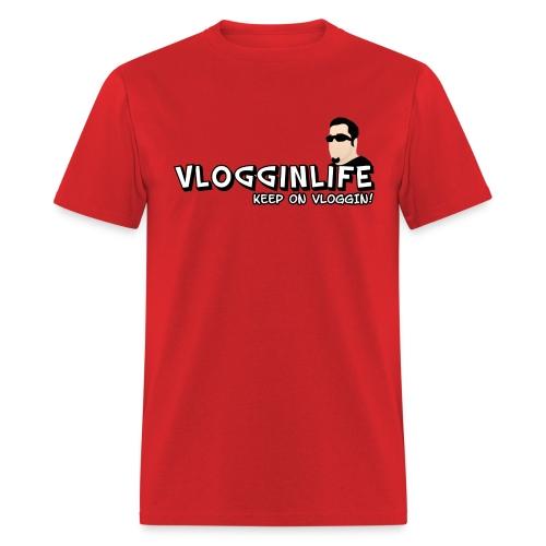 Vlogginlife t-Shirt - Men's T-Shirt