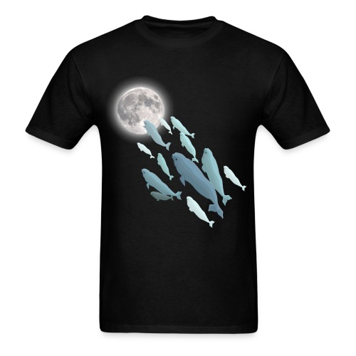 FLYING WHALES - Men's T-Shirt