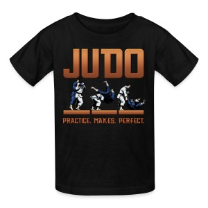 Judo Practice Makes Perfect - Kids' T-Shirt