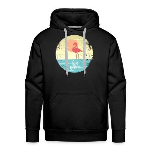 FFH-Flamingo. Hoodie - Men's Premium Hoodie