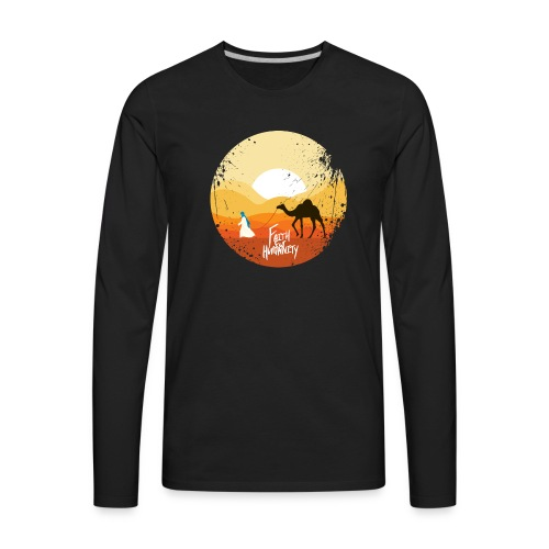 FFH-Camel. Long Sleeve T-shirt - Men's Premium Long Sleeve T-Shirt