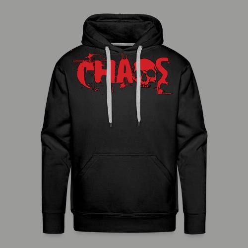 Basic Chaos Hoodie - Men's Premium Hoodie
